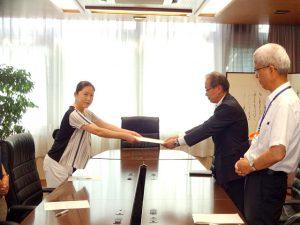 猛暑「熱中症」対策についての要望書 日本共産党鳥取市議団